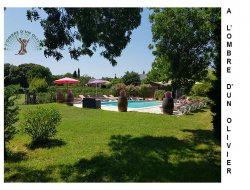 Gites with pool near Montpellier in France. near Lunel