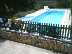 Holiday cottage with pool in Dordogne.