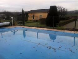 Gite avec piscine a louer en Dordogne.