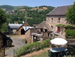 Gîte de charme à St Geniez d'Olt dans l'Aveyron.