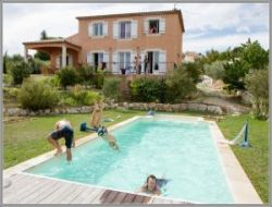 Holiday rental in Valensole, Haute Provence, France.