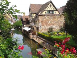 Holiday accommodation in Colmar in Alsace.