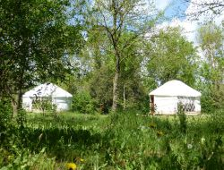 Unusual stay in Yurt near La Rochelle in France near Puyravault