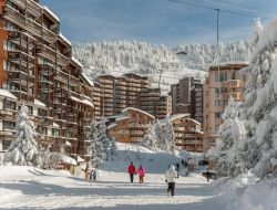 Holiday rentals in Avoriaz ski resort, France.