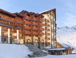 Holiday accommodations in savoy ski resort.