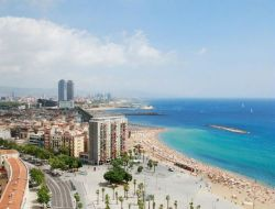 Holiday accommodation in Barcelona, Spain.