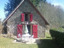 Holiday home with pool near Neuvic in the Limousin.