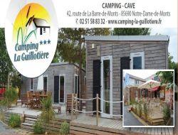 Camping et mobil homes a louer en Vendée.