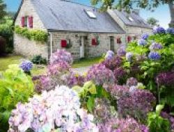Charming cottage in Locronan, Finistere, Brittany.