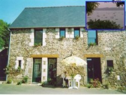 Holiday home near St Malo and the Mont St Michel in France. near Plouer sur Rance