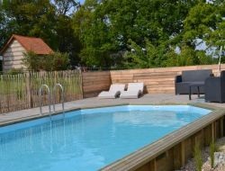 Holiday home with heated pool in Normandy