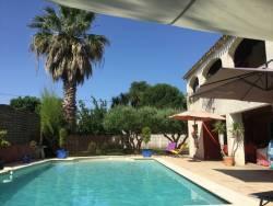 Location vacances avec piscine dans l'H�rault.