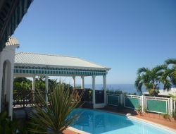 Holiday home with pool in Guadeloupe, Caribbean island