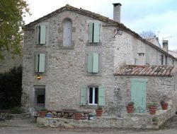 Holiday home with heated pool near Carcassonne in France.