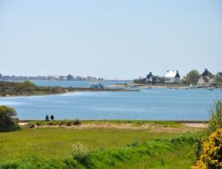 Seaside holiday rental in the Morbihan, south Brittany. near Nostang