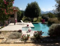 Holiday home with natural pool in the Drome. near Livron sur Drome