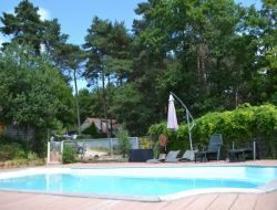 Holiday home with heated pool in Correze, Limousin.