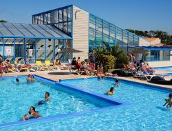 Seaside camping in vendee, France. near Olonne sur Mer