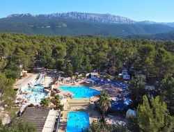 Bras camping mobilhome dans le Var, Provence