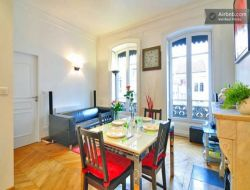 Holiday accommodation in Lyon, France.
