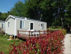 Camping and holiday rentals in the Morbihan, Brittany. near Concoret
