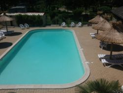 Camping with heated pool in Lozere, Languedoc Roussillon. near Saint Jean la Fouillouse