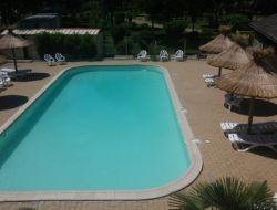 Camping avec piscine chauffée en Lozère.