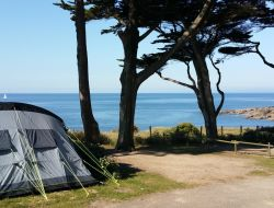 Seafront camping in Loire Atlantique, France. near Bourgneuf en Retz