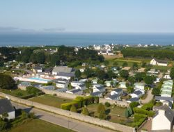 Camping with heated pool in the Finistère, France. near Plogastel Saint Germain