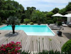 Holiday home with pool near Montpellier in France.