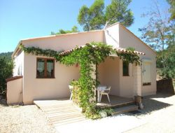 Air conditioned holiday home near Frejus on the French Riviera.