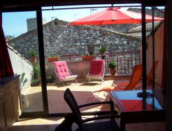 Holiday accommodation close to Narbonne in Languedoc Roussillon, France. near Quarante