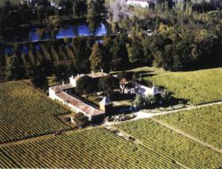Grand gite dans un chateau viticole de Gironde