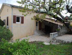 Holiday rental near Vallon Pont d'Arc in Ardeche, France.