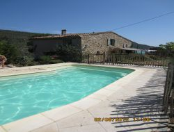 Holiday home with pool near Narbonne and Carcassonne in France.