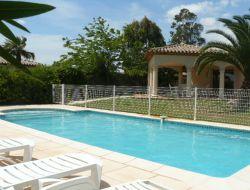Location avec piscine chauffée dans l'Hérault.