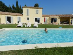 Holiday home with pool near Avignon in France.