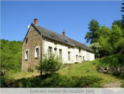 Holiday home in the natural park of the Morvan, Burgundy.