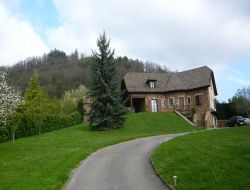 Holiday rental near Millau in Aveyron, Midi Pyrenees. near Castelnau Pegayrols
