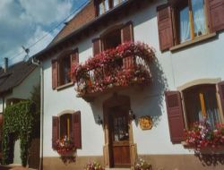 Holiday home in Alsace, France.