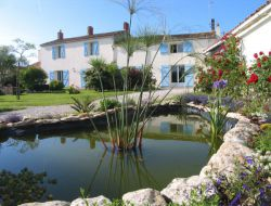 Holiday homes in the Marais Poitevin in Vendee, France.