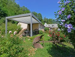 Holiday home with pool in Aveyron, Midi Pyrenees.