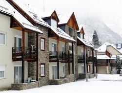 Village de vacances près de Luchon dans les Pyrénées.