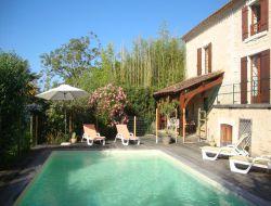 Location vacances avec piscine en Dordogne.