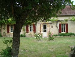 Holiday home near Sarlat in Aquitaine, France.