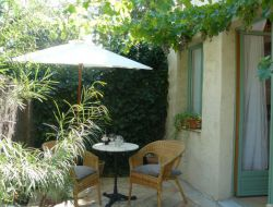 Holiday home close to the Lac du Salagou in Languedoc Roussillon.
