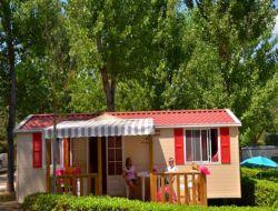 Camping avec location de mobil homes dans le Gard.