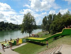 Camping in Isere, Rhone Alpes.