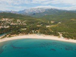 camping en bord de mer en Corse