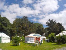 Séjour insolite en yourtes dans le Finistère.
